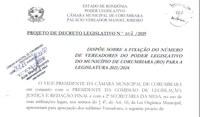Projeto de Decreto nº 002/2019 pretende reduzir o número de vereadores na Câmara de Corumbiara