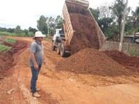 Secretaria de Obras Executa Serviços em Distrito de Vitória da União