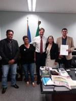 Vereadores vão a Brasília participar de curso, e visitam Deputados e Senadores de Rondônia